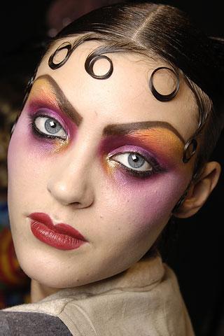 el maquillaje del teatro